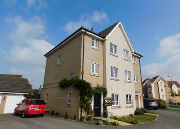 Thumbnail 4 bed town house for sale in Lapwing Grove, Stowmarket