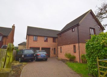 Thumbnail 5 bedroom detached house for sale in Angstrom Close, Shenley Lodge, Milton Keynes