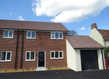 Thumbnail 3 bedroom semi-detached house for sale in Chapel Road, Rooksbridge, Axbridge