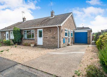 Thumbnail 2 bed semi-detached bungalow for sale in Pierce Crescent, Warmington, Peterborough