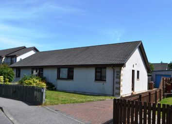 Thumbnail 2 bed semi-detached bungalow to rent in 43 Mannachie Grove, Forres