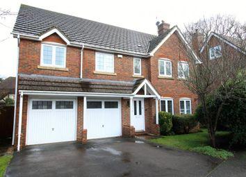 Thumbnail 5 bed detached house for sale in Crookham Village, Fleet