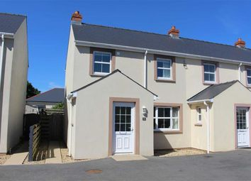 Thumbnail 2 bed end terrace house for sale in Hall Court, Johnston, Haverfordwest