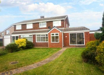 Thumbnail 4 bedroom semi-detached house for sale in Mill Hill, Houghton Le Spring