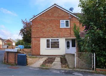 Thumbnail 3 bedroom end terrace house for sale in Carshalton Road, Swindon