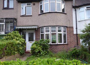 Thumbnail 3 bedroom terraced house to rent in Moordown, London