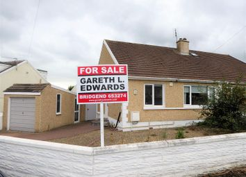Thumbnail 2 bed bungalow for sale in Scott Close, Cefn Glas, Bridgend.