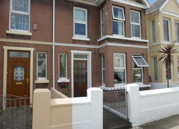 Thumbnail 4 bed terraced house for sale in Edith Avenue, Plymouth
