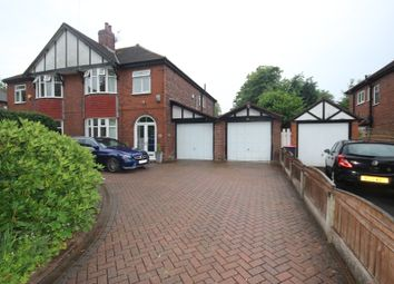 Thumbnail 3 bed semi-detached house for sale in Rutland Road, Ellesmere Park, Manchester