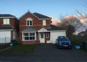 Thumbnail 4 bed detached house to rent in Youghal Close, Pontprennau