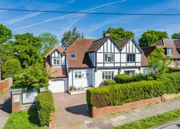 Thumbnail 4 bed semi-detached house for sale in Thorndon Gardens, Ewell, Epsom
