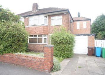 Thumbnail 4 bed property to rent in Parrswood Road, East Didsbury