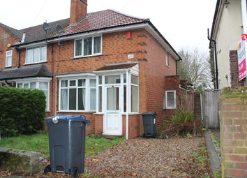 Thumbnail 2 bed semi-detached house to rent in Weoley Avenue, Birmingham