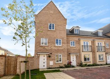 Thumbnail 4 bed end terrace house for sale in Buttercup Avenue, St. Neots, Cambridgeshire.