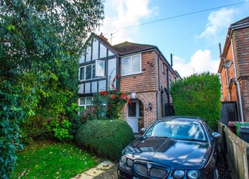 Thumbnail 4 bed semi-detached house for sale in Brodrick Road, Eastbourne