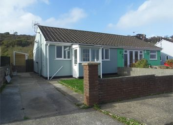 Thumbnail 2 bed semi-detached bungalow to rent in Seaview Crescent, Goodwick, Pembrokeshire