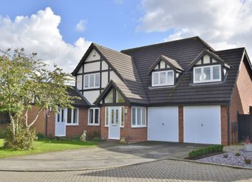 Thumbnail 5 bedroom detached house for sale in Derwent Close, Gamston