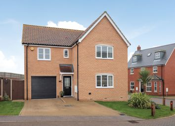 Thumbnail 4 bed detached house for sale in Emma Girling Close, Hadleigh, Ipswich, Suffolk
