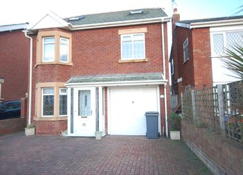 Thumbnail 4 bed detached house to rent in Bentinck Avenue, Blackpool