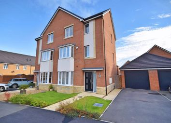 Thumbnail 4 bed semi-detached house for sale in Tavern Close, Cramlington