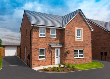 "Thumbnail 4 bedroom detached house for sale in ""Radleigh"" at Beech Croft, Barlby, Selby"