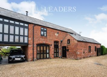 Thumbnail 5 bed detached house to rent in Mount Barns, Poplar Hall Lane, Chorlton-By-Backford