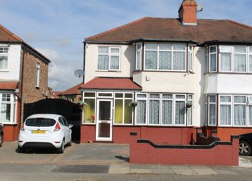 Thumbnail 4 bed semi-detached house to rent in Harley Road, Harrow