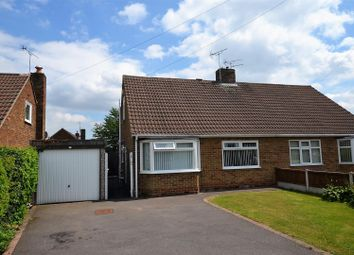 Thumbnail 3 bed semi-detached bungalow for sale in Devonshire Drive, Mickleover, Derby