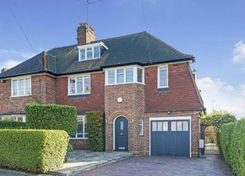 Thumbnail 4 bed semi-detached house for sale in Widecombe Way, Hampstead Garden Suburb, London