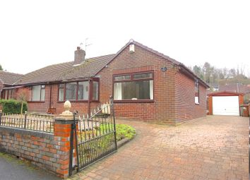 Thumbnail 3 bed semi-detached bungalow for sale in Kerwood Drive, Royton, Oldham
