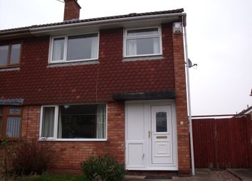 Thumbnail 3 bed semi-detached house for sale in Collett, Glascote Heath, Tamworth, Staffordshire