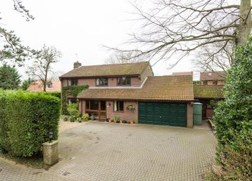 Thumbnail 4 bed detached house for sale in The Village, Strensall, York