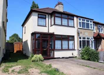 Thumbnail 3 bedroom semi-detached house for sale in Belgrave Avenue, Gidea Park, Romford