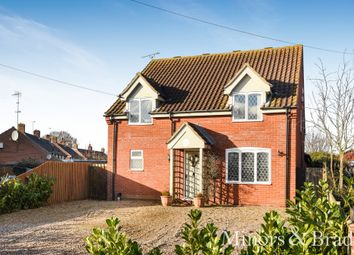 Thumbnail 3 bed detached house for sale in Mautby Lane, Runham, Great Yarmouth