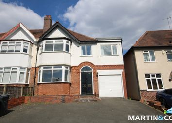 Thumbnail 4 bed semi-detached house to rent in Fellows Lane, Harborne