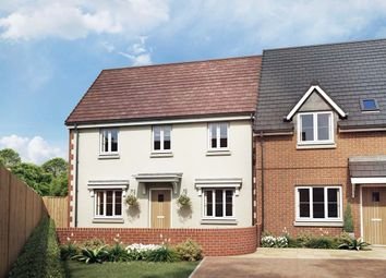 Thumbnail 4 bed end terrace house for sale in The Peony, Owsla Park, Bloswood Lane, Whitchurch, Hampshire