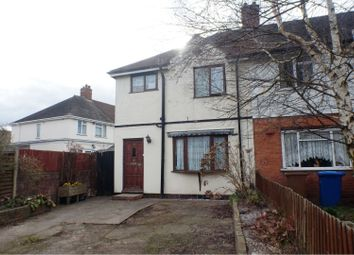 Thumbnail 3 bed end terrace house for sale in Dovehouse Fields, Lichfield