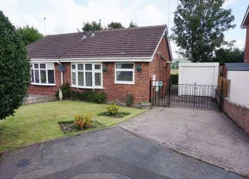 Thumbnail 2 bed semi-detached bungalow to rent in Silsden Grove, Meir, Stoke-On-Trent