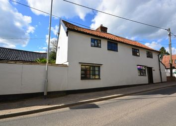 Thumbnail 4 bed semi-detached house for sale in The Street, Dickleburgh, Diss