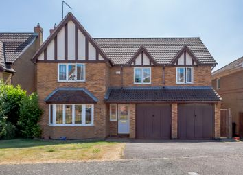 Thumbnail 5 bed detached house for sale in Knightons Way, Northampton