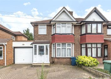 Thumbnail 3 bed semi-detached house for sale in Lyon Meade, Stanmore, Middlesex