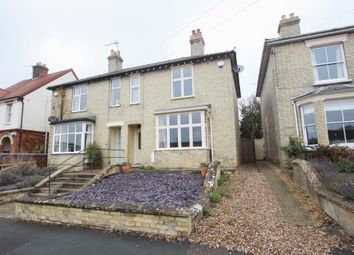 Thumbnail 3 bed semi-detached house for sale in Station Road, Soham, Ely