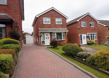 Thumbnail 3 bed detached house for sale in Windrush Close, Stoke-On-Trent