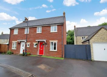 Thumbnail 3 bedroom semi-detached house for sale in Gaveller Road, Redhouse, Swindon