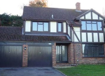 Thumbnail 4 bed detached house to rent in St. Johns Road, St. Johns, Woking