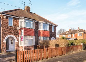 Thumbnail 3 bed semi-detached house for sale in Golf Links Road, Hull