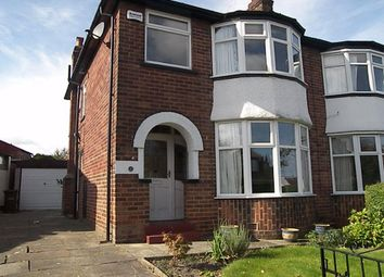 Thumbnail 3 bed semi-detached house to rent in Knightsway, Halton, Leeds
