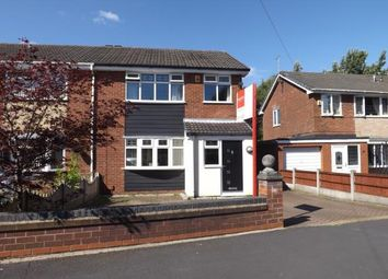 Thumbnail 3 bed semi-detached house for sale in Hulme Road, Leigh, Greater Manchester