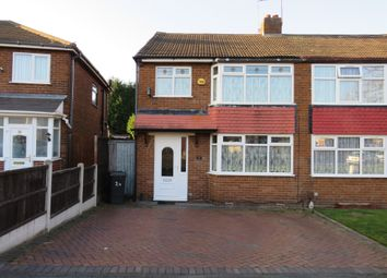 Thumbnail 3 bedroom semi-detached house for sale in Westfield Road, Willenhall