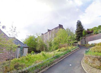 Thumbnail 1 bedroom flat for sale in 2D, Kilmory Terrace, Port Glasgow PA145Pf